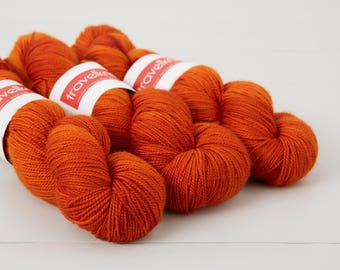 Pure Merino hand dyed sock yarn - Uluru