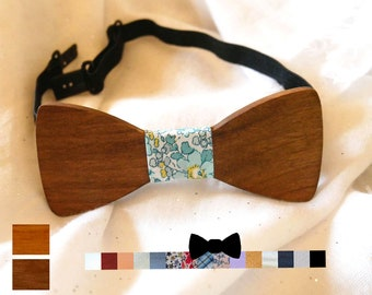 Wooden boys bow tie kid can be personalized with name engraved, kid gift, custom teen bowtie