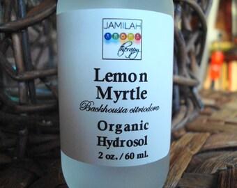 Organic Lemon Myrtle Hydrosol | Organic Skin Toner | Anti-microbial | Anti-bacterial | Skin Care | Oily Skin | Acne Skin Care | Hydrosol