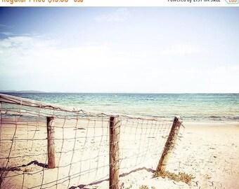 ON SALE beach photography ocean nautical decor coastal prints 8x10 11x14 24x36 fine art photography dreamy blue aqua teal coastal decor summ