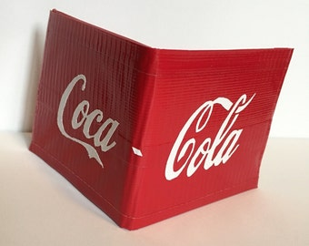 Duct Tape Coca-Cola Bifold Wallet