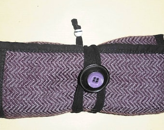 Upcycled tobacco ' purple Tweed
