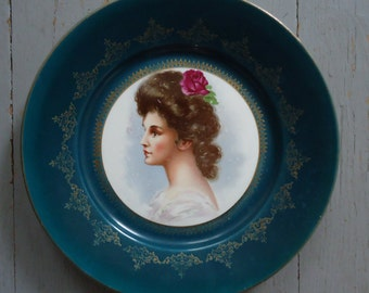 Empire China Portrait Plate