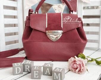 leather crossbody bag marsala bag