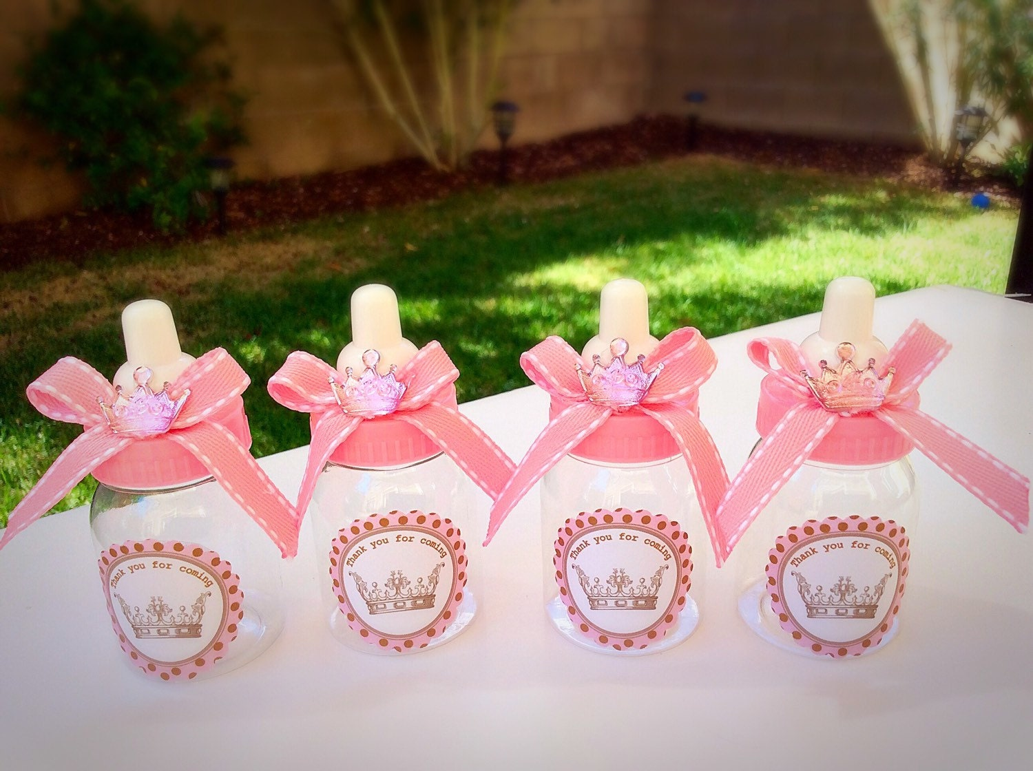 girl baby lip amazon balms com favors elephant kitchen pink souvenirs shower dining dp