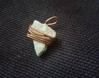Tiny Amazonite Pendant