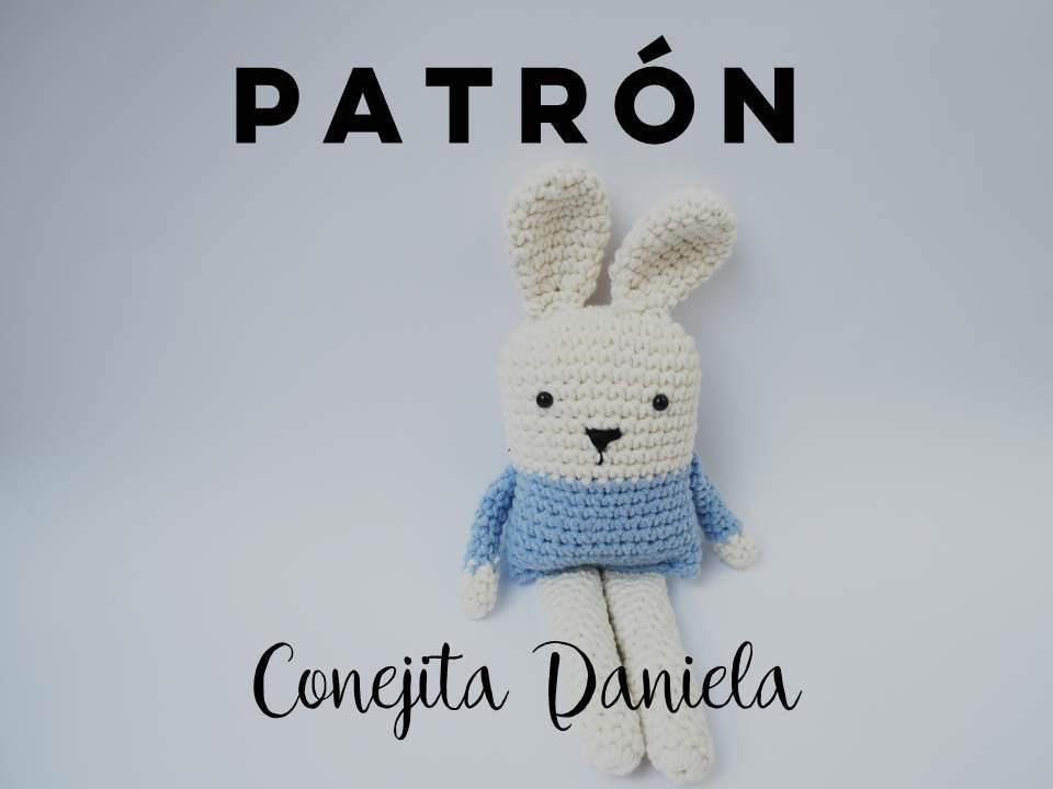 PATRÓN Conejo Amigurumi, ganchillo, patrón amigurumi, crochet, bunny ...