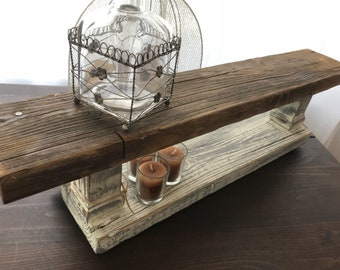 SOLD! Rustic Salvaged Riser