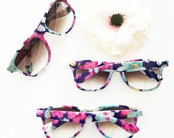Monogram Floral Sunglasses