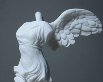 Nike Victoria Greek Samothrace Goddess Victory Handmade Statue Figurine  4.7