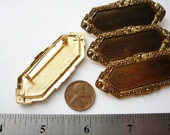 30 Gold tone vintage brooch settings CS021-30. Regular price 39.99 75% off now 9.99. Close out.