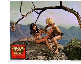 Creatures The World Forgot US Lobby Card No 5