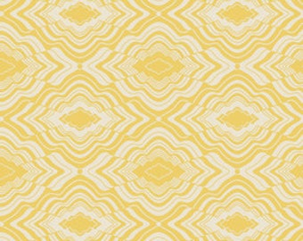 In My Room Pillow Fort in Yellow by Jenean Morrison
