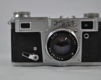 Soviet Kiev Film Camera, Vintage Camera, Antique Camera, Camera Lens, Camera, Film Photography, Manual Camera, 35mm Film Camera,Retro Camera