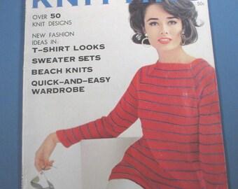 Vintage Vogue Spring and Summer 1962 Book