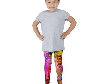 Rainbow Pixel Kid's leggings