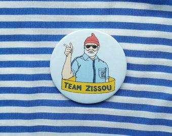 Team Zissou button badge
