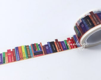 Books Washi Tape • Library Books (183369)