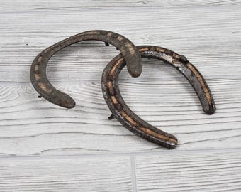 Used Horseshoes, Used Horse Shoe, Rustic Horse Decor, Rustic Horseshoe, Real Horse Shoe, Real Horseshoe, Equestrian Decor,Dirty Horseshoes