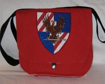 USA Knights Messenger Bag / Haversack (cotton duck / cotton)