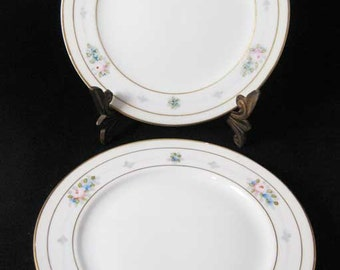 Meito Nippon China Japan Bread & Butter Plates(3)MEI208