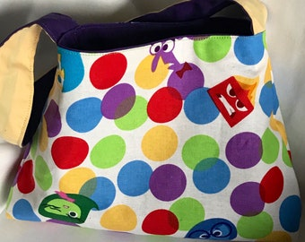 Reversible Girl's Purse-Inside Out