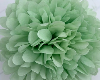 WILLOW tissue paper pom