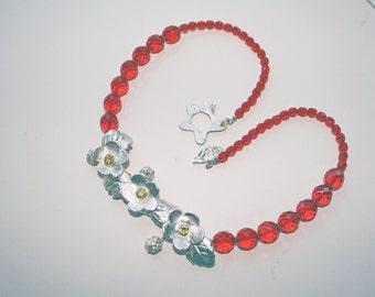 Wild Strawberries Necklace