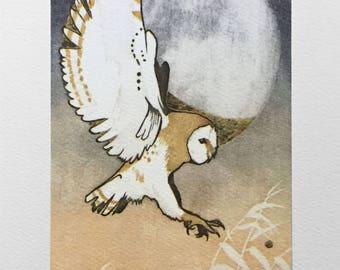 "Greeting Card - ""Hunting Venus"""