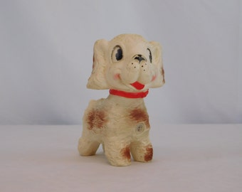 1958 Edward Mobley Puppy Squeak Toy Arrow Rubber And Plastic Corp