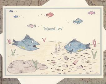 Judaica, Congratulations Card, Funny Congratulations Card, Success Card, Encouragement Card, Jewish Card, Judaica Cards, Congrats Card