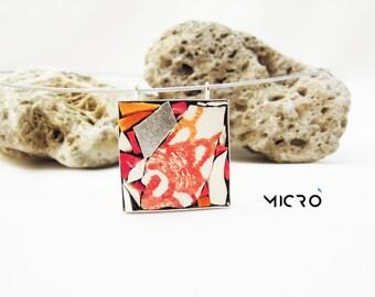 Ciondolo in mosaico rosso - JewelleryLine