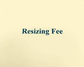 Resizing Fee for Wire Wrapped Bangles