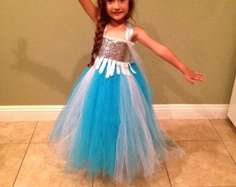 Beautiful dress, queen elsa inspired