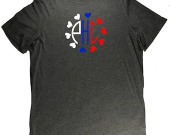 Philippines Monogram Flag Filipino Pride T Shirt