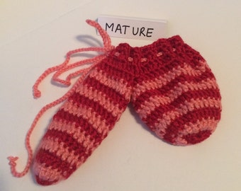 Pink and Red  Willie Warmer - Clearance priced