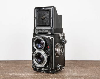 Rolleicord Twin Lens Reflex Medium Format Film Camera in Good Condition Professionally Tested