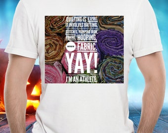 Funny Quilting Tee - Quilting Is A Sport