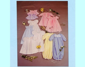 Bishop Pattern / Baby Bishops / Daygowns / Day Dress / Sacque / Smocked / Long, Short or Angel Sleeves  / 8 variations / Chery Williams