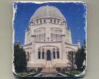 Bahaii Temple in Wilmette - Original Coaster