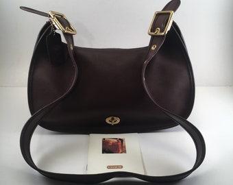 Coach Bag / Vintage Coach Bag / Coach Purse / Coach Saddle Bag