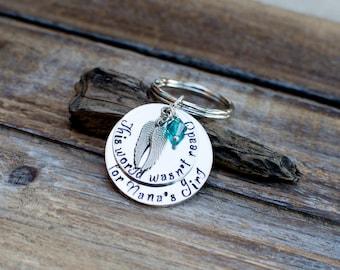 Granddaughter Memorial Jewelry, Granddaughter Memorial Keychain, My Angel Granddaughter, Bereavement, Loss of Granddaughter, Sympathy Gift