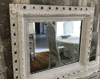 Shabby Chic Cottage Mirror