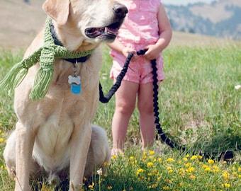 Grey Dog Scarf, Big Puppy Scarf, Dog Collar, Dog Gift, Large Dog Crochet Scarf, Winter Accessories for Dog