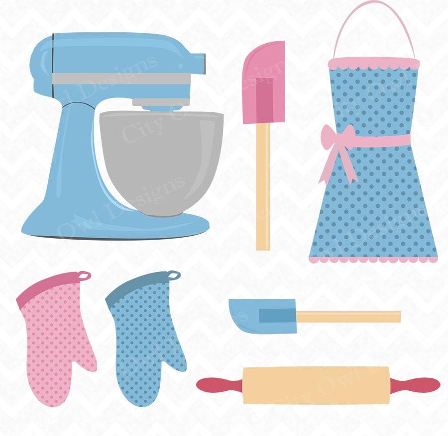Kitchen Clip Art Baking Clipart Kitchen Utensils Cooking
