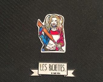 Harley Quinn badges