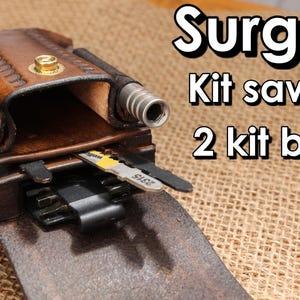 EDC pouch for Leatherman SAW SURGE 2 kit bits