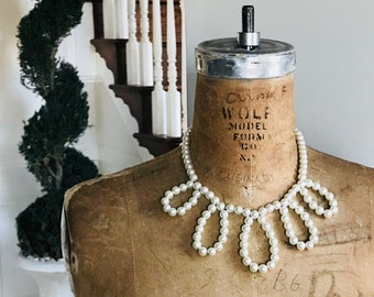 Necklace – The JACKIE Pearl Statement Necklace