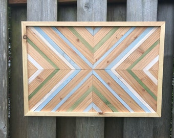 Spring Inspired Wooden Wall Art