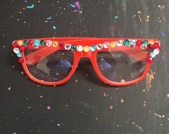 Wayfarer Style Glasses